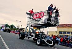 покупка парада тележки огромная Стоковая Фотография