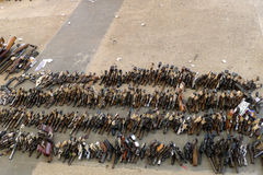 Покупка пушки назад программирует Стоковые Фото