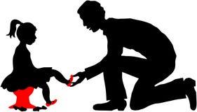покупка ребенка Стоковое Изображение