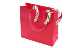 покупка рождества мешка Стоковое Изображение RF