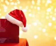 покупка рождества мешка Стоковая Фотография