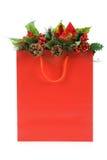 покупка рождества мешка Стоковое Фото