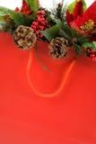 покупка рождества мешка Стоковое фото RF