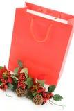 покупка рождества мешка Стоковая Фотография RF