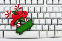 покупка рождества он-лайн Стоковая Фотография RF