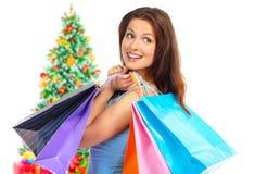 покупка рождества Стоковое Изображение