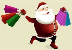 покупка рождества Стоковое Изображение RF