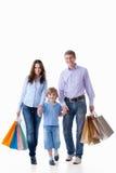 покупка семьи Стоковые Фотографии RF
