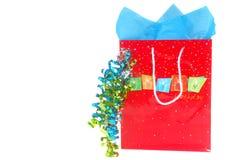 покупка случая дня рождения мешка Стоковые Изображения RF