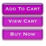 покупка тележки кнопок иллюстрация вектора