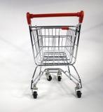 покупка тележки пустая Стоковое Фото