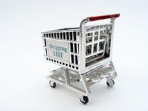 покупка тележки стоковое фото rf