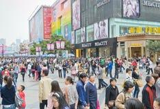 покупка толпы Стоковое Изображение RF