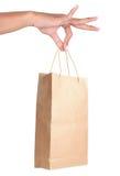 покупка удерживания руки мешка Стоковые Фото