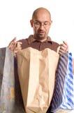 покупка человека Стоковые Изображения RF