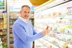 Покупка человека Стоковая Фотография RF