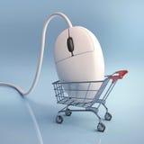 Покупка Click стоковые фотографии rf