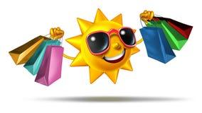 Покупки лета Стоковое Фото