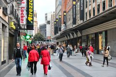 Покупки Мадрида стоковые изображения