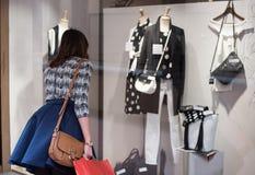 Покупки окна стоковая фотография rf