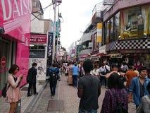 Покупки harajuku Substreet Стоковая Фотография