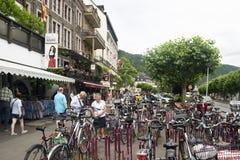 Покупки Rudesheim Германии стоковая фотография rf