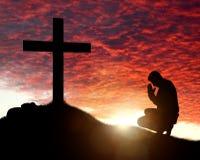 Поклонение, влюбленность и духовность Стоковая Фотография RF