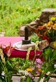 Поклонение lingam Стоковое Фото