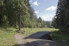 Поклонитесь крест на печали Maura в районе Kirillov зоны Vologda Стоковое Фото