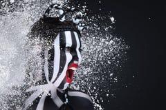 Поклонник футбола Стоковые Изображения
