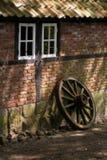 полагаться колеса телеги Стоковое Фото