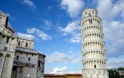 Полагаясь башня, Пиза, Италия стоковая фотография rf