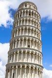 Полагаясь башня Пизы, Италии Стоковое Фото