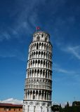 полагаясь башня Тоскана pisa Стоковые Фото