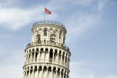 полагаясь башня pisa Стоковые Изображения