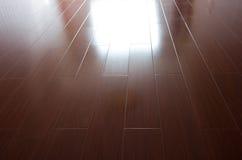 Пола твёрдой древесины Стоковые Фото
