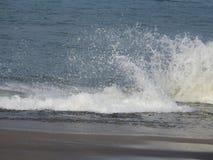 Полдень в красивом пляже стоковые фотографии rf