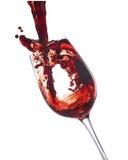 полейте вино Стоковое фото RF