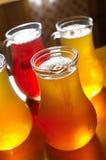поленики яблочного сока Стоковые Изображения