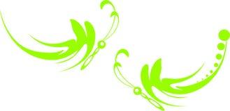 полет бабочек Стоковые Изображения