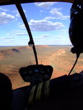 Полет вертолета стоковое изображение rf