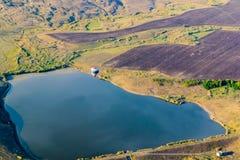 Полет воздушного шара стоковая фотография