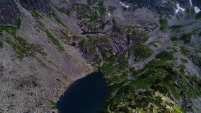 Полет в горы Tatry около Zakopane видеоматериал