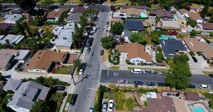 Полет над северным Голливудом сток-видео