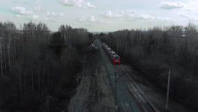 Полет после поезда весной акции видеоматериалы