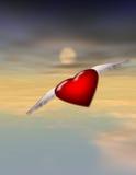 полет сольный Стоковое Изображение