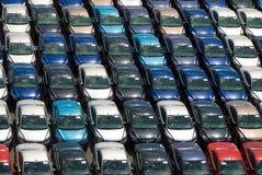 поле автомобилей Стоковые Фотографии RF