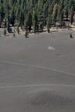 поле гари Стоковые Фото