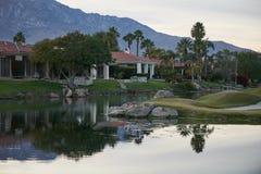 Поле для гольфа игрока Гэри опасности воды стоковое изображение rf