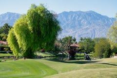 Поле для гольфа игрока Гэри, Ранчюо Мираге стоковое изображение
